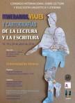 CONGRESO INTERNACIONAL SOBRE LECTURA Y EDUCACIÓN LINGÜÍSTICA Y LITERARIA: ITINERARIOS,VIAJES Y CARTOGRAFÍAS DE LA LECTURA Y LA ESCRITURA
