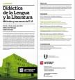 II JORNADAS Didáctica de la Lengua y la Literatura. Métodos y recursos de E/A