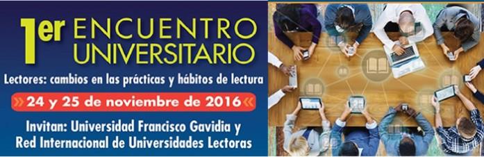 I Encuentro Universitario. Lectores: cambios en las prácticas y hábitos de lectura. Desarrollado en El Salvador