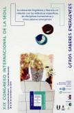XIX Congreso Internacional de la SEDLL sobre educación lingüística y literaria en la Universidad de Almería