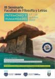 III Seminario Facultad de Filosofía y Letras: Patrimonio y Humanidades