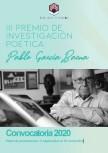 Convocatoria del Premio de Investigación Poética Pablo García Baena