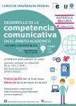 Curso de desarrollo de la competencia comunicativa en el ámbito académico