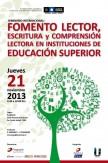 SEMINARIO INTERNACIONAL. FOMENTO LECTOR, ESCRITURA Y DESARROLLO DE LACOMPRENSIÓN LECTORA EN INSTITUCIONES DE EDUCACION SUPERIOR