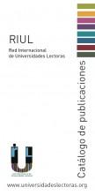 Publicado el nuevo Catálogo de Publicaciones de  Red Internacional de Universidades Lectoras