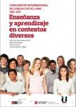 II ENCUENTRO INTERNACIONAL DE LENGUA CASTELLANA (IER-UR). Enseñanza y aprendizaje en contextos diversos